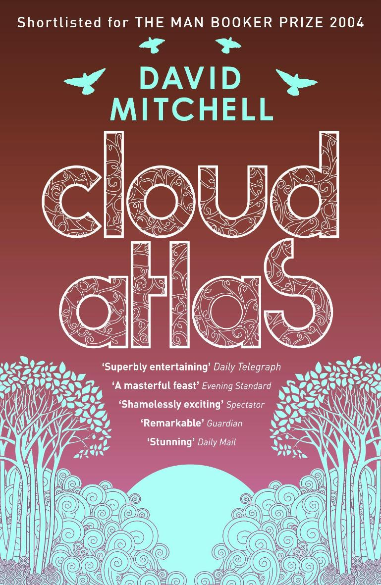 Awesome book cover Friday: Cloud Atlas – Misprinted Pages
