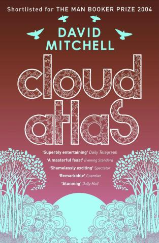 Image result for cloud atlas book cover