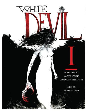 White Devil #1 cover