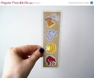 A Game of Thrones bookmark