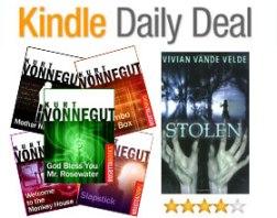 Kindle Daily Deal Kurt Vonnegut