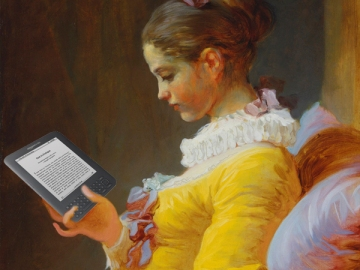 e-reader girl