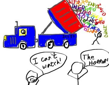 info dump truck