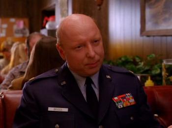 Twin Peaks Major Briggs