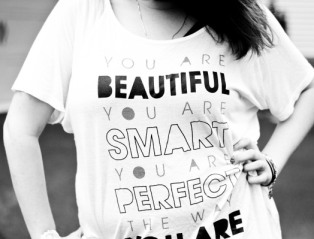 you are smart beautiful