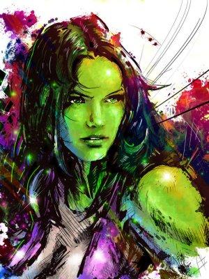 She-Hulk colors
